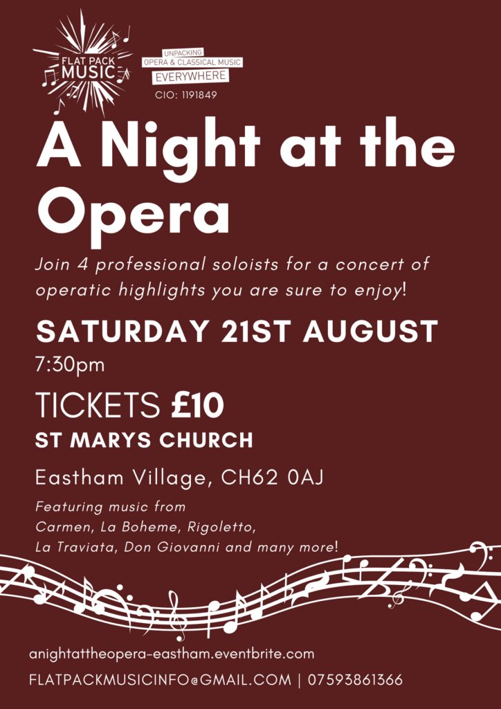 Opera Gala at St Mary's - 21st August 2021